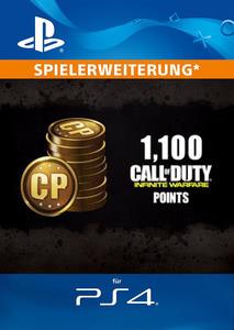 Verpackung von Call of Duty: Infinite Warfare 1100 Punkte [PS4]