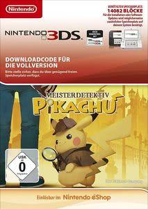 Verpackung von Meisterdetektiv Pikachu [3DS]