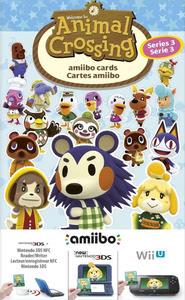 Verpackung von Animal Crossing amiibo Karten 3 Stück (Serie 3) [Wii U / 3DS]