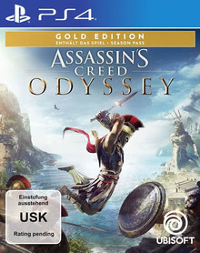 Verpackung von Assassin's Creed Odyssey Gold Edition [PS4]
