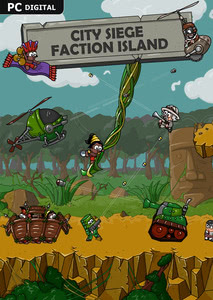 Packaging of City Siege: Faction Island [PC]