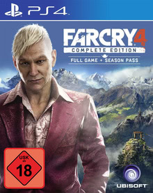 Verpackung von Far Cry 4 Complete Edition [PS4]