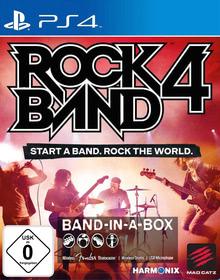 Verpackung von Rock Band 4 Band-in-a-Box Software Bundle (schwarz) [PS4]