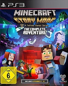 Verpackung von Minecraft: Story Mode - The Complete Adventure [PS3]