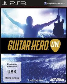 Verpackung von Guitar Hero Live (Spiel + Gitarre) [PS3]