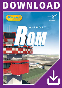 Packaging of X-Plane 11 Airport Rome XP [PC / Mac]