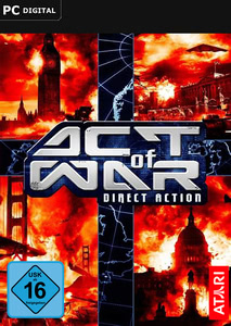 Packaging of Act of War: Direct Action [PC]
