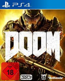 Verpackung von DOOM D1 Edition + 4 DLCs [PS4]