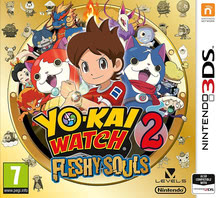 Packaging of YO-KAI WATCH 2: Fleshy Souls [3DS]