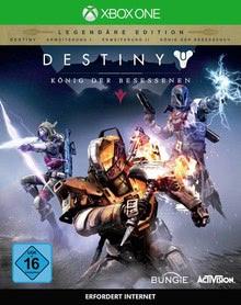 Verpackung von Destiny: König der Besessenen Legendäre Edition [Xbox One]