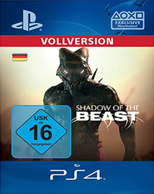 Verpackung von Shadow of the Beast [PS4]