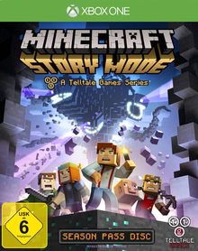 Verpackung von Minecraft: Story Mode [Xbox One]
