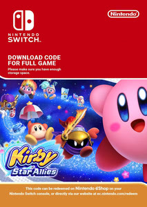 Packaging of Kirby Star Allies [Switch]