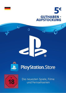 Verpackung von PlayStation Network Code 5 Euro [PS3 / PS4]
