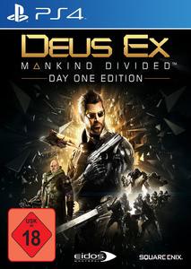 Verpackung von Deus EX: Mankind Divided Day One Edition [PS4]