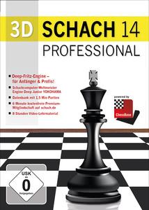 Verpackung von 3D Schach 14 - Professional [PC]