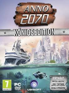 Verpackung von Anno 2070 (PEGI AT) [PC]