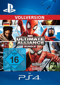 Verpackung von Marvel: Ultimate Alliance Bundle [PS4]
