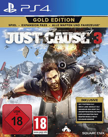 Verpackung von Just Cause 3 Gold Edition [PS4]