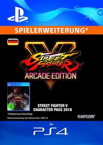 Verpackung von Street Fighter 5 Season 3 Character Pass - deutsches PSN-Konto [PS4]