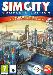 Packaging of SimCity: Complete Edition [Mac]