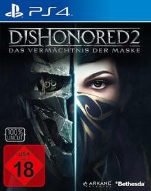 Verpackung von Dishonored 2: Das Vermächtnis der Maske [PS4]