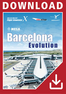 Packaging of FSX Mega Airport Barcelona Evoution [PC]