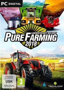 Verpackung von Pure Farming 2018 [PC]