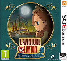 Emballage de Layton's Mystery Journey: Katrielle and the Millionaires' Conspiracy [3DS]