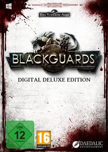 Verpackung von Blackguards Deluxe Edition Das Schwarze Auge [PC]