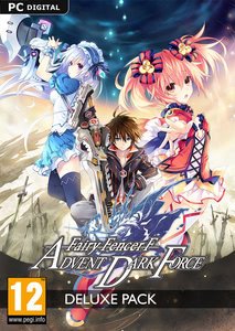 Packaging of Fairy Fencer F Advent Dark Force Deluxe DLC [PC]