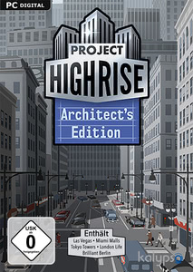 Verpackung von Project Highrise Architect's Edition [PC / Mac]