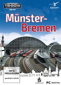 Verpackung von Train Simulator 2019 Münster-Bremen [PC]