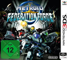 Verpackung von Metroid Prime: Federation Force [3DS]