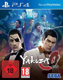 Verpackung von Yakuza Zero [PS4]