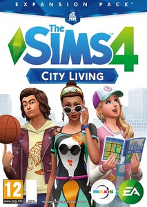 Packaging of Die Sims 4 - Add On City Living [PC / Mac]