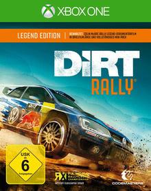 Verpackung von DiRT Rally Legend Edition [Xbox One]