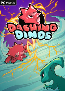 Packaging of Dashing Dinos [PC]
