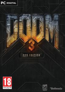 Packaging of DOOM 3 BFG EDITION [PC]