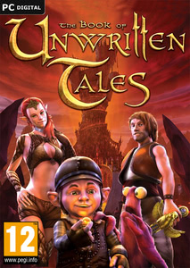 Packaging of The Book of Unwritten Tales [PC]