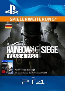 Verpackung von Tom Clancy's Rainbow Six Siege Year 4 Pass - Deutsches PSN-Konto [PS4]