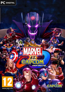 Packaging of Marvel vs. Capcom: Infinite [PC]