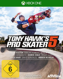 Verpackung von Tony Hawk's Pro Skater 5 [Xbox One]