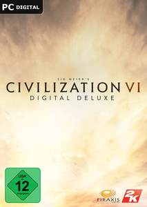 Verpackung von Sid Meier's Civilization VI Digital Deluxe [Mac]