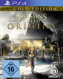 Verpackung von Assassin's Creed Origins Gold Edition [PS4]
