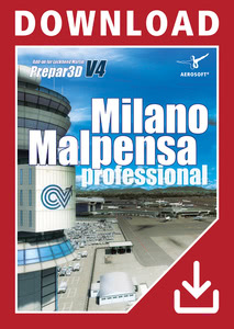 Packaging of Prepar3D V4 Milano Malpensa professional [PC]