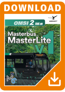 Packaging of OMSI 2 Masterlite Pack Add-On Masterlite Pack Add-On [PC]