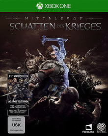 Verpackung von Mittelerde: Schatten des Krieges [Xbox One]