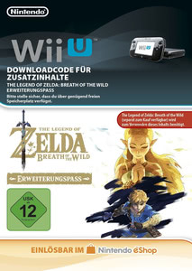 Verpackung von The Legend of Zelda: Breath of the Wild Erweiterungspass [Wii U]