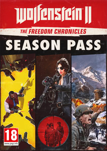 Emballage de Wolfenstein II: The New Colossus Freedom Chronicles Season Pass [PC]